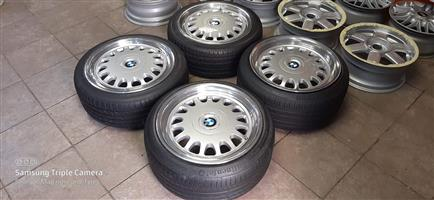 BMW E32/34 Alloy Rims stepped to 18 inch