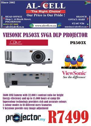 Viewsonic PA503X SVGA DLP Projector