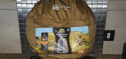 Camping shower tent for sale.