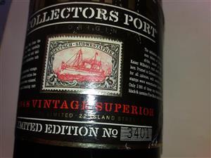 Monis Collectors Port 1948 Vintage Superior Limited Edition No 3401