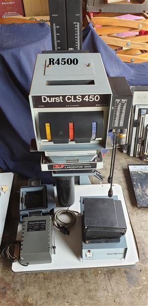 Durst CLS 450 and  Durst Laborator 1000 Darkroom Enlargement Equipment
