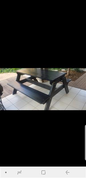 Outside Bench Table