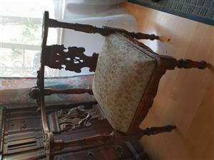 Corner Oak Chair