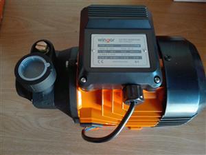 New Wingar Pressure pump 0.75hp