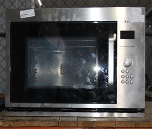 AEG silver microwave S032382B #Rosettenvillepawnshop