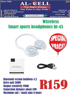 Wireless Smart Sports Headphone BT-45