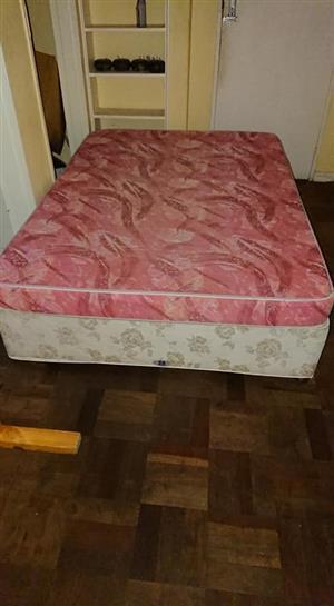 Double bed. Base n foam matress