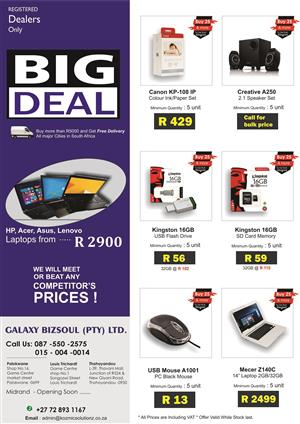 Best Deals for dealers only