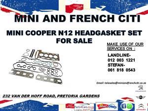 Mini cooper N12 headgasket set for sale !!