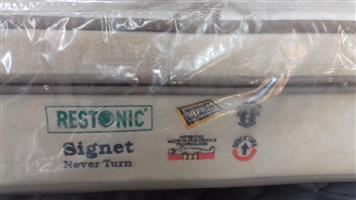 Restonic Signet King Size Mattress and Base Set