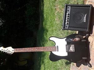 Electric guitar and Amp for sale