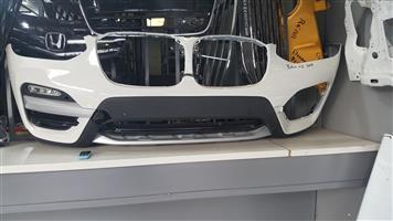 BMW X3 Front Bumper