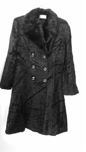 Ladies Glenanza Black Coat