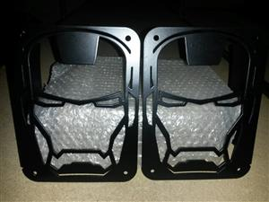 JEEP WRANGLER JK IRON MAN TAIL LIGHT COVERS FOR SALE NEW