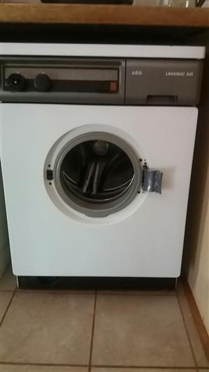 AEG 541 Washing machine