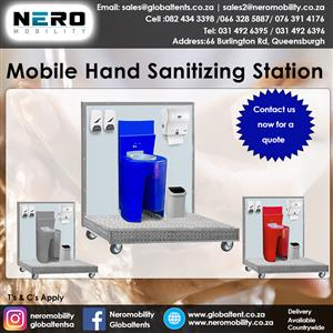 portable plastic toilets - hand wash stations