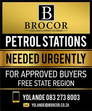 Filling Station Needed - BFN. OR FREESTATE