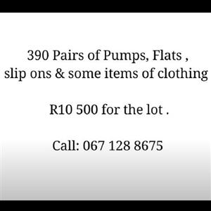 390 Items - R10 500 for the lot