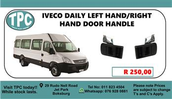 Iveco Left Hand/Right Hand Door Handle - For Sale at TPC