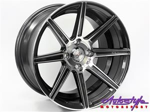 15 inch  ST Sword 4-100 GMMF Alloy Wheels