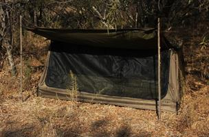 Survival and camping tent