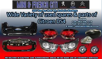 Citroen DS4 used Body parts on Big sale !! Now !!