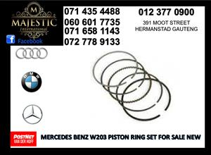 Mercedes benz w203 piston ring set for sale