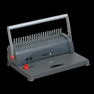Comb Binder Machine Bind up to 450 Sheets, 50mm Ring, 7 Pin Adjustable