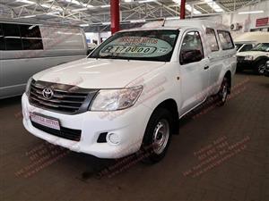 2012 Toyota Hilux single cab HILUX 2.0 VVTi A/C P/U S/C