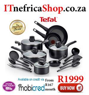 Tefal 18 piece set Non stick Cookware