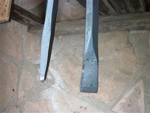 Crowbar set  ( Gwala ) Pry bar 2M & 900mm