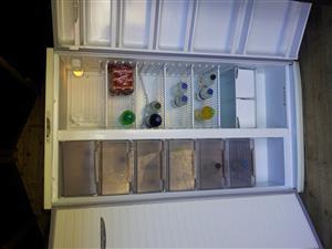 Defy Double Door Fridge Freezer (No frost) for sale