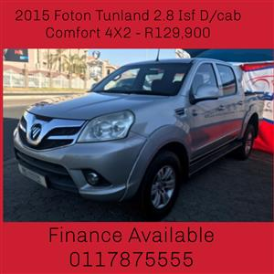 2015 Foton Tunland 2.8 double cab off road Comfort