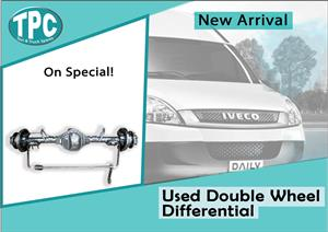 Iveco Daily Used Double Wheel Differential For Sale at TPC