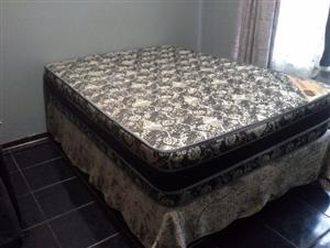 Double bed still brand new, been used once