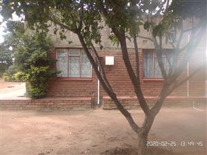 5 ROOMED HOUSE WITH A STOP NOSENSE, A GARDEN, ELECTRICITY, STOP NOSENSE AND FREE WATER,