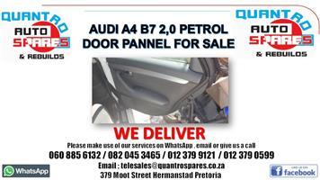 Audi A4 B7 2.0 petrol manual door pannel for sale