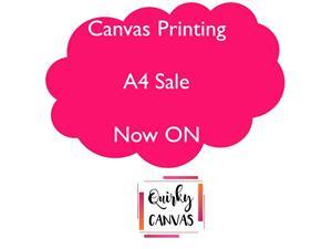 A4 Canvas Printing Specials