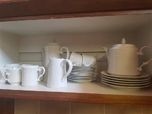 TEA CUPS/SAUCERS/TEA SETS ETC (OFFICE RELOCATING)