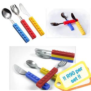 Lego cutlery covers