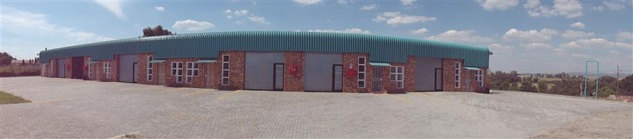 NEW Mini Factory complex Units to Let Daleside