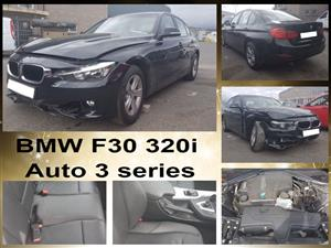 BMW F30 2013 320i 3 series auto spares for sale.