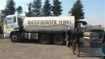 Water truck browser new 18000L tank