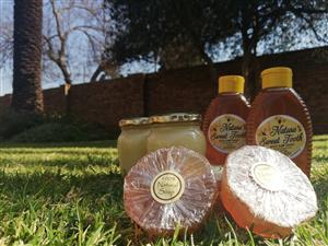 Fresh raw honey & bee products