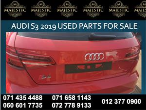 Audi s3 2019 salvaged spares for sale