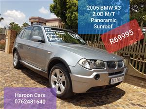 2006 BMW X3 sDRIVE 20i M SPORT (G01)