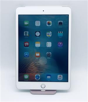 Apple iPad Mini 3 WiFi & Cellular (64GB, Silver) - Pre Owned