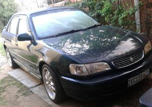 1998 Toyota Corolla 160i GLE automatic