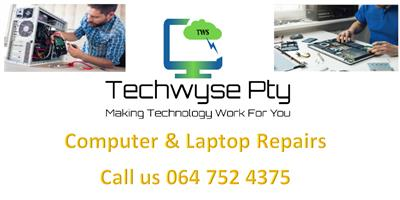 COMPUTER REPAIRS / SOFTWARE INSTALLATIONS / LAPTOP PARTS / NETWORKING DONE ONSITE
