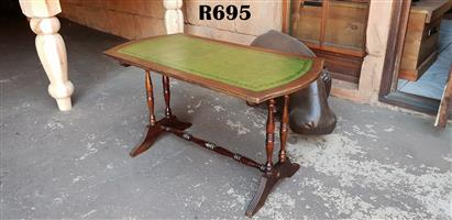 Antique Victorian Inlaid Library Table (900x445x495)